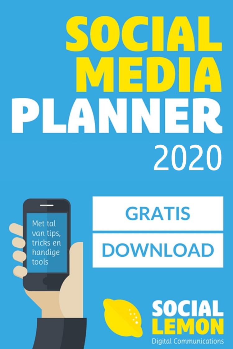 Download gratis Social media planner