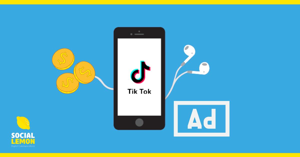 TikTok voorziet 'Promote' advertentie optie